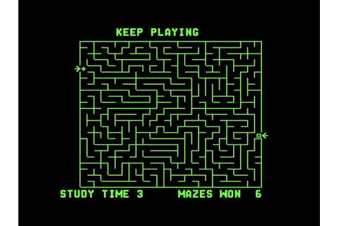The Amazing Maze - (1976) - Arcade - GameStomper - YouTube
