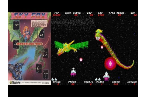 SKY FOX - Exerizer (Jaleco 1987) First 5 Stages Arcade ...