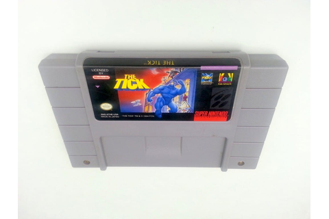 The Tick game for Super Nintendo SNES - Loose - TheGameGuy.ca