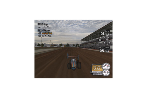 Sprint Cars Road to Knoxville, PlayStation 2 ...