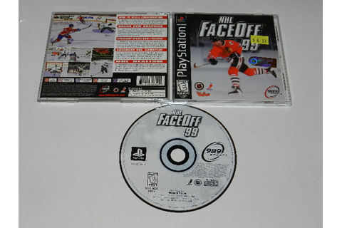 NHL FaceOff 99 Playstation PS1 Video Game Complete | eBay