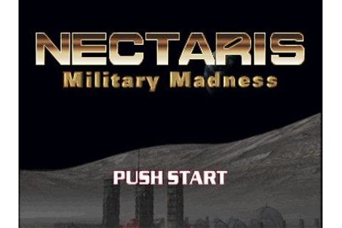 Nectaris Military Madness PS1 ISO - Game Full Collection
