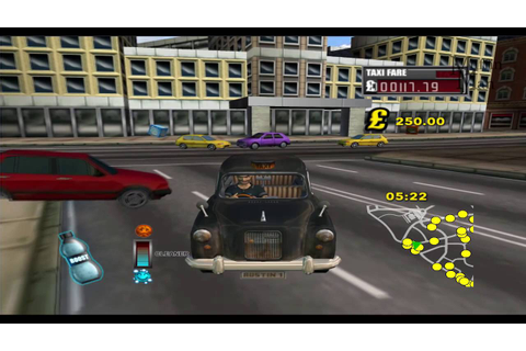 London Taxi Rush Hour Wii Gameplay HD - YouTube