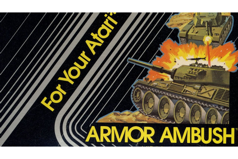 Classic Game Room - ARMOR AMBUSH review for Atari 2600 ...
