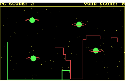 Lazer Beam Wars (1988) by author MS-DOS game