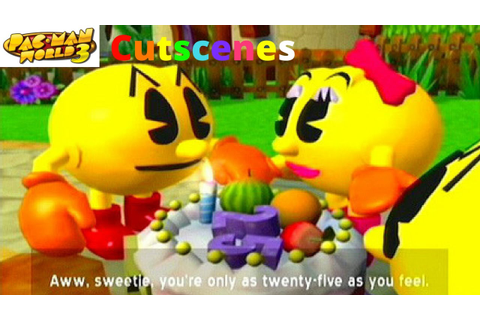 Pac-Man World 3 PS2 Cutscenes - YouTube