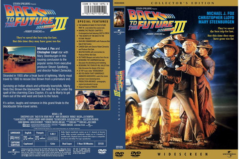 COVERS.BOX.SK ::: Back to The future 3 - high quality DVD ...