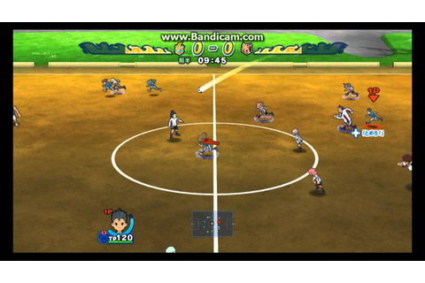 Inazuma Eleven Strikers WII GAMEPLAY! HD - YouTube