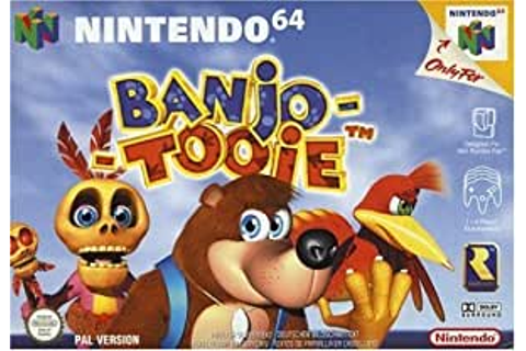 Banjo Tooie (N64): Nintendo 64: Amazon.co.uk: PC & Video Games