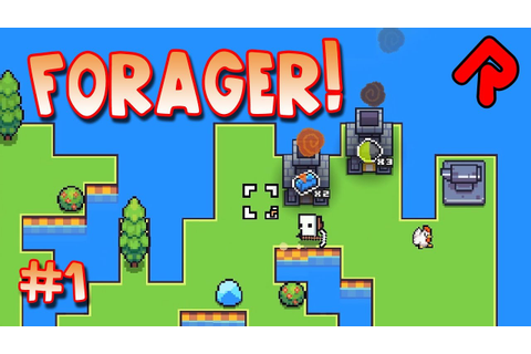 Forager game: Super-cute island survival! | Let's play ...