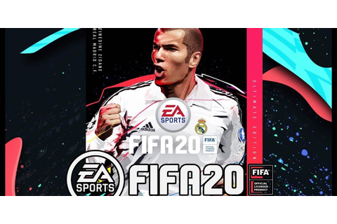 FIFA 20 Unveils Zinedine Zidane as Ultimate Edition Cover Star