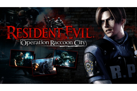 12 Playable Characters in Resident Evil-Operation Raccoon ...