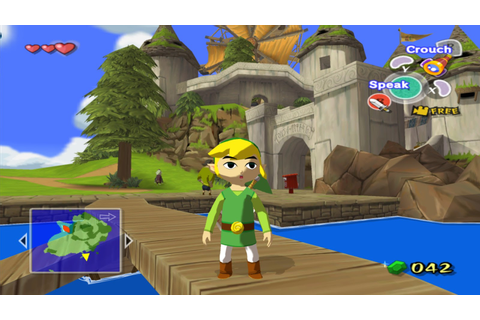 Game Journal: The Legend of Zelda: The Wind Waker (GameCube)