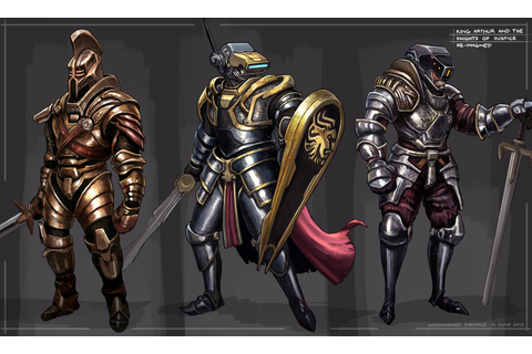 King Arthur and the Knights of Justice by freakyfir on ...