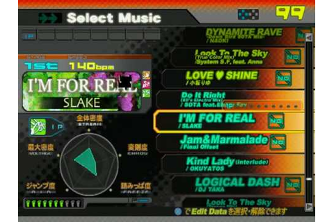 DDRMAX2 PS2 (JP) - FULL Song list Line Record - YouTube