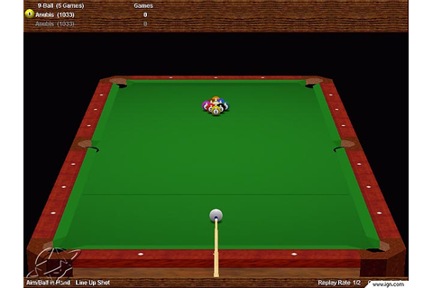Virtual Pool Hall Screenshots, Pictures, Wallpapers - PC - IGN