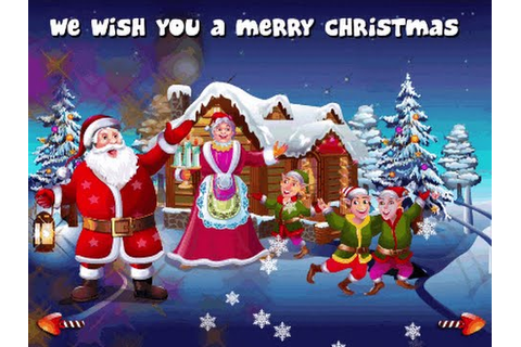 Christmas Songs Collection Nursery Rhymes Games - We Wish ...