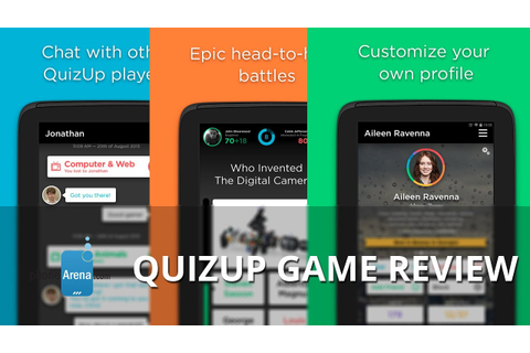 QuizUp game Review - YouTube