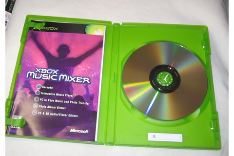 Microsoft Xbox Music Mixer Xbox, 2003 Video Game FREE ...