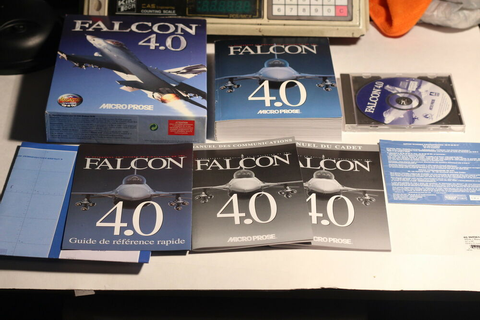 Falcon 4.0 Microprose Flight Simulator Computer Game ...