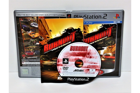 PLAYSTATION 2 BURNOUT REVENGE PLATINUM + NET PLAY G ...