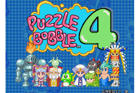 Puzzle Bobble 4 - Videogame by Taito