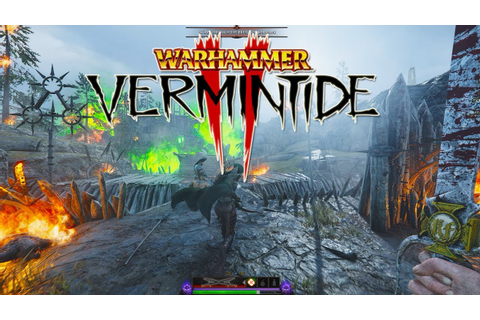 WARHAMMER VERMINTIDE 2: GAME PLAY - 3440x1440 | 60FPS ...