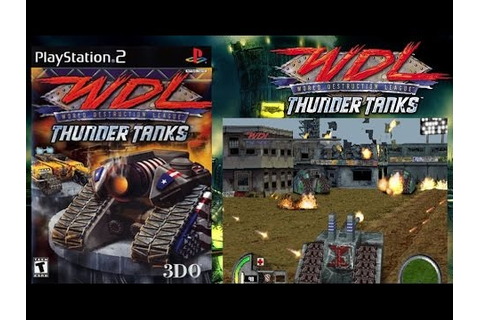 Quick Look | World Destruction League Thunder Tanks (2000 ...