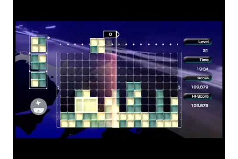 Lumines Live! Xbox 360 Edition Gameplay - YouTube