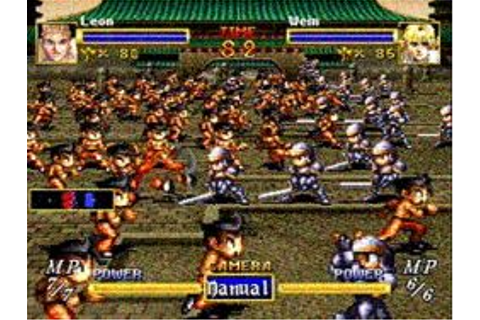 Dragon Force [1996] ANALYSIS – The Play What You Like SRPG ...
