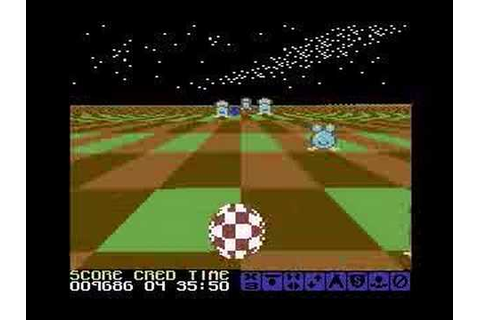 Cosmic Causeway (C64): Title Screen and Gameplay - YouTube