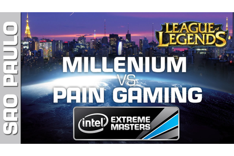 Millenium vs. paiN Gaming - Game 1 - Grand Final - IEM Sao ...