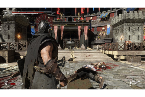 ryse son of rome coliseum fight - YouTube