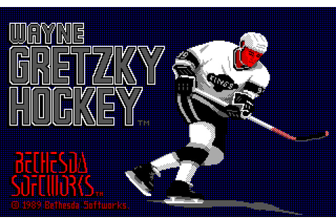 Download Wayne Gretzky Hockey sports for DOS (1989 ...