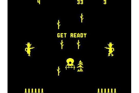 Arcade Game: Gun Fight (1975 Midway/Dave Nutting ...