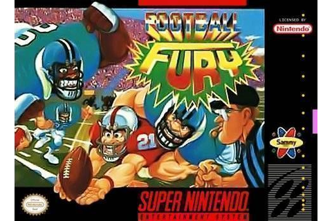 Football Fury ROM - Super Nintendo (SNES) | Emulator.Games