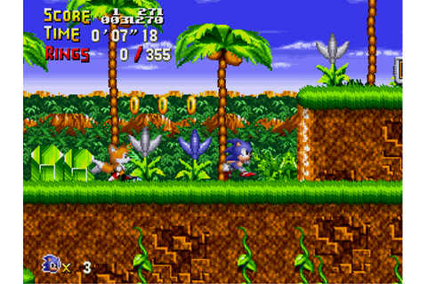 Fan game – Sonic Retro