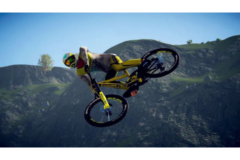 The debut trailer for Descenders showcases risky downhill ...