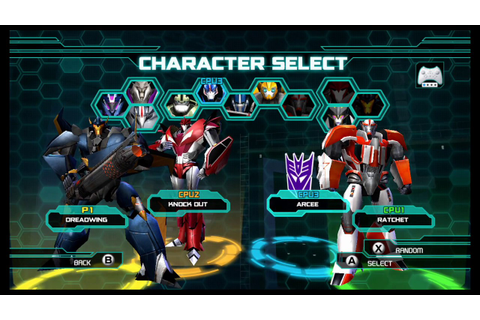 Transformers Prime The Game Wii U Multiplayer part 13 ...