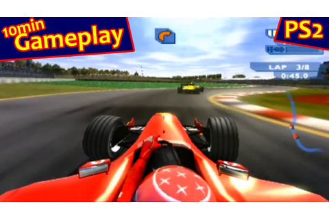 F1 Career Challenge ... (PS2) - YouTube