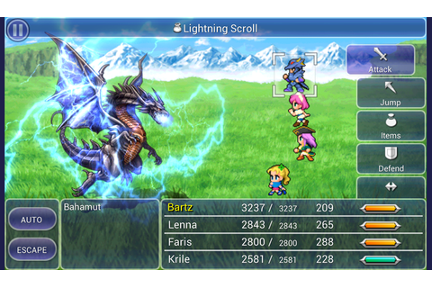 FINAL FANTASY V: Amazon.co.uk: Appstore for Android
