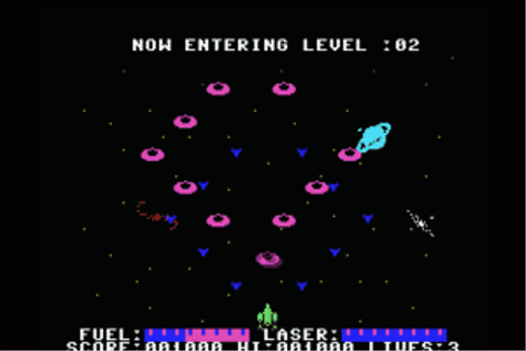 Download Alpha Blaster (MSX) - My Abandonware
