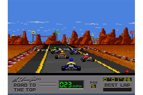Al Unser Jr.'s Road to the Top Download Game | GameFabrique