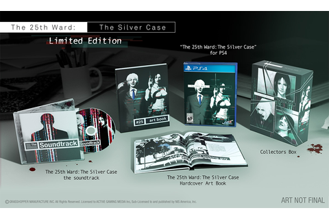 NISA Online Store The 25th Ward: The Silver Case Limited ...