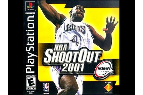 NBA ShootOut 2001 (PlayStation) - YouTube