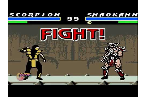 Ultimate mortal kombat 3 game boy color-scorpion - YouTube