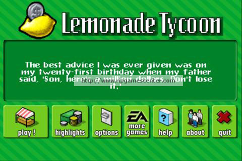 Free Download Games Lemonade Tycoon Full Version Gratis ...