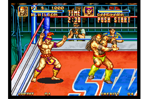 3 Count Bout / Fire Suplex - Play Retro SNK Neo Geo games ...