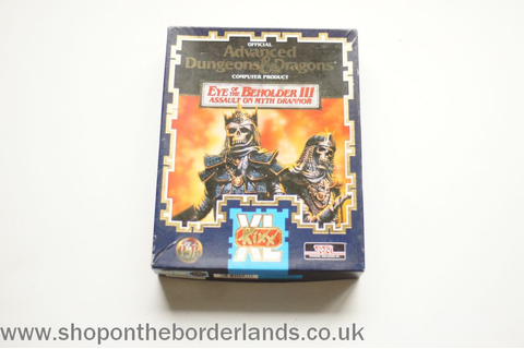 Eye of the Beholder III - Assault on Myth Drannor, PC game ...