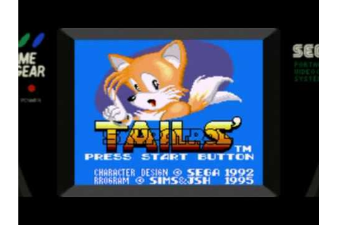 Tails Sky Patrol And Tails Adventure (Game Gear) - YouTube